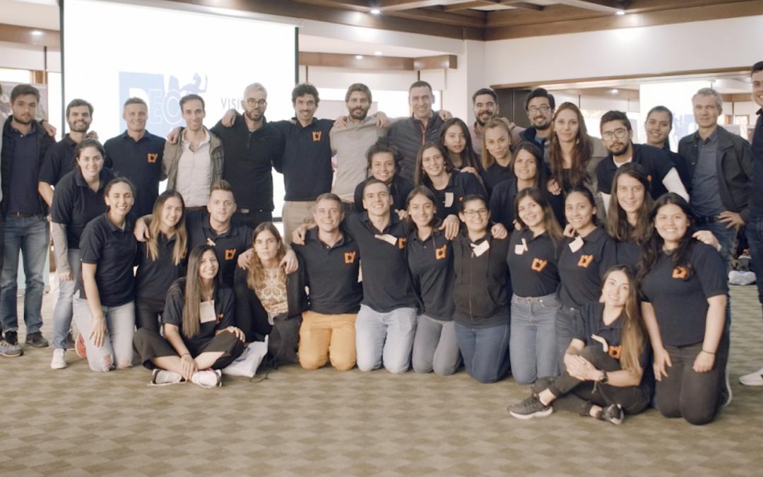 Decathlon Colombie : plus de 50% des coéquipiers impliqués dans la Vision en un seul mois.