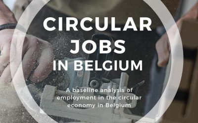 7.5% OF BELGIAN JOBS ARE CIRCULAR