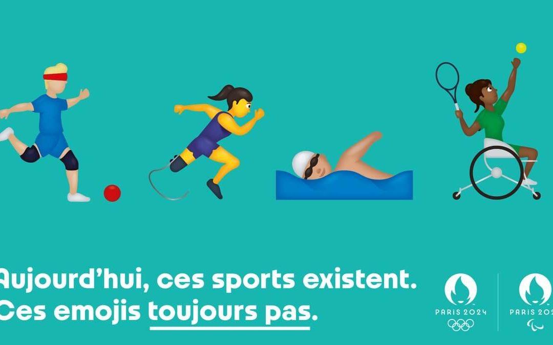 Paris 2024 souhaite inclure les sports paralympiques parmi la gamme des émojis