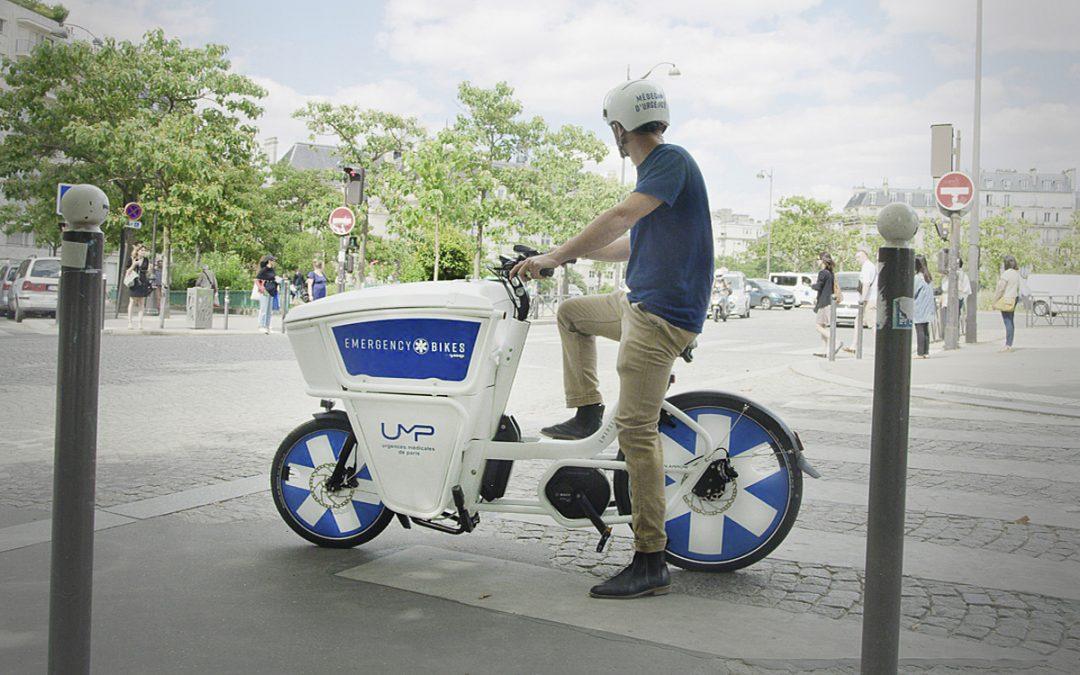 « Emergency bikes », les vélos au service des médecins urgentistes