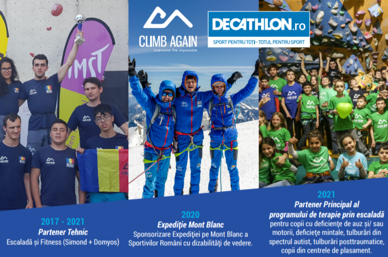 Climb again x Decathlon