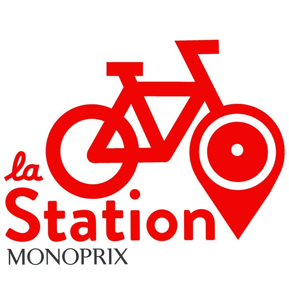 logo la station monoprix