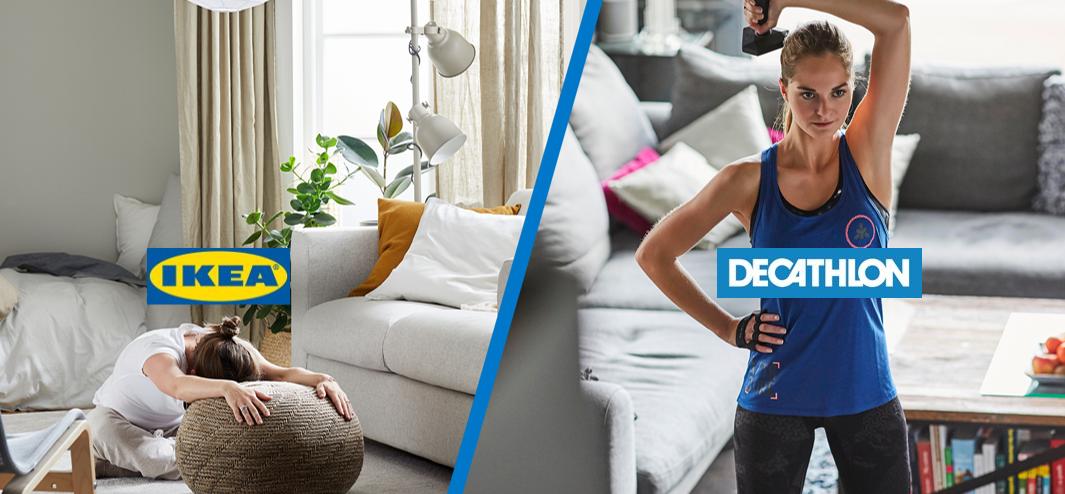 Decathlon Poland x IKEA: Stay Sporty, Stay Homey