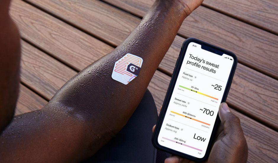 Gatorade lance un patch intelligent qui analyse la transpiration des athlètes
