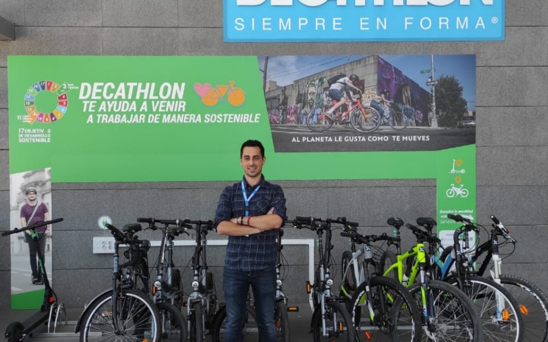 Sustainable mobility project of Decathlon Spain